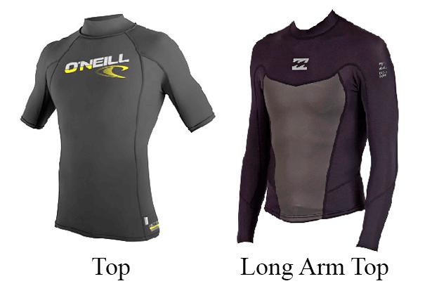 top wetsuit