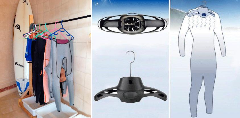 Хранение гидрокостюма для серфинга